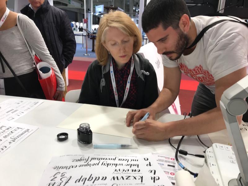Visita de los alumnos a la feria Graphispag 2019 en Barcelona